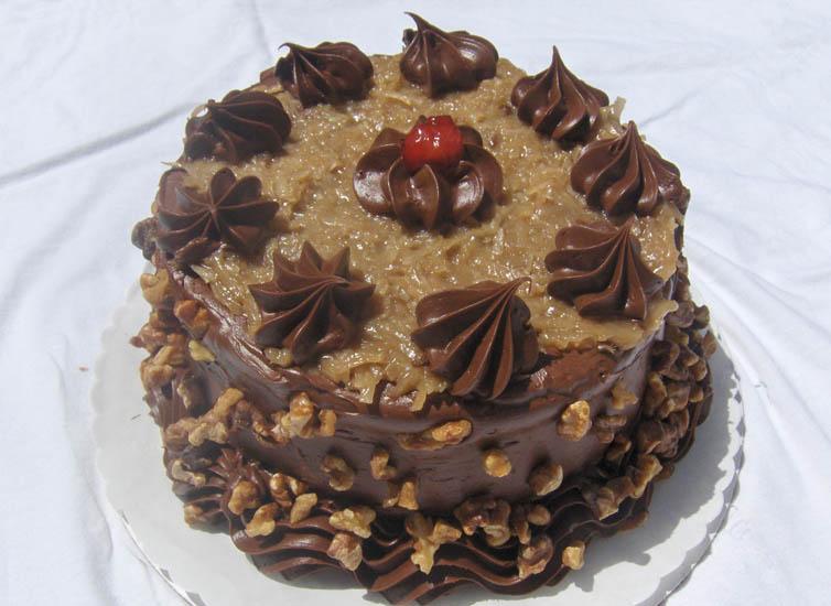 German chocolate cake | Desserts | Pinterest