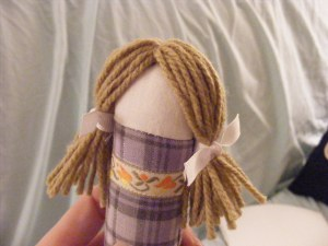 Lace and Lemons Pocket Doll